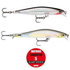 Rapala Mathias Favoriter 5 klart vatten 2-pack