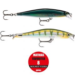 Rapala Mathias Favoriter 8 molnigt väder 2-pack
