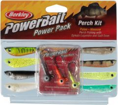 Berkley PowerBait Pro Pack Perch Minnow 3+8-pack